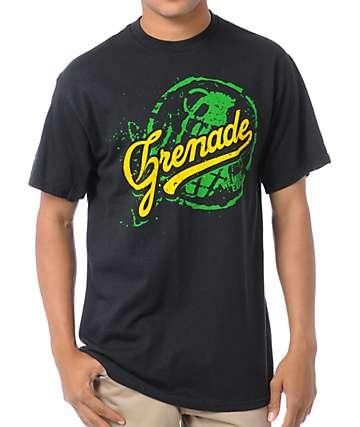 Grenade Team Art Black T-Shirt