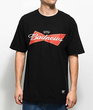 Grizzly Bad News Black T-Shirt