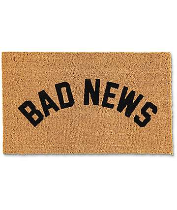 Grizzly Bad News Doormat
