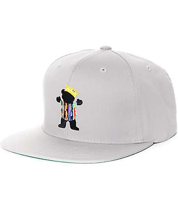 Grizzly Biggie Bear Snapback Hat