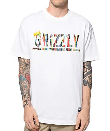 Grizzly Biggie Stamp T-Shirt