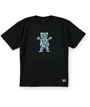 Grizzly Boys Drop OG Bear Cubs Black T-Shirt