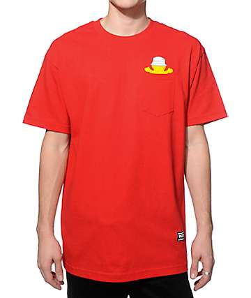 Grizzly Bucket Bear Pocket T-Shirt
