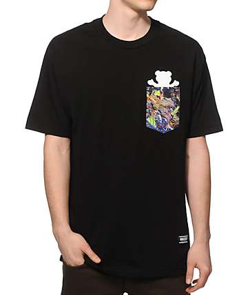 Grizzly Fruity Pebble Kush Pocket T-Shirt