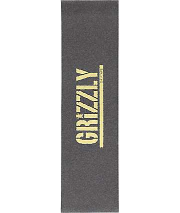 Grizzly Gold Stamp Grip Tape
