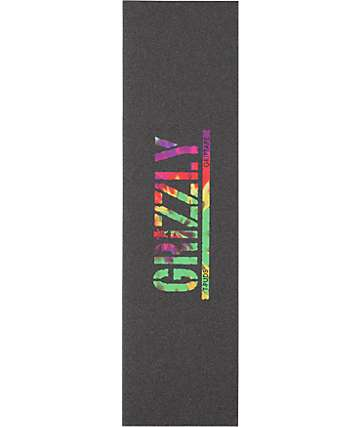 Grizzly Griptape Grizzly T-Puds Stamp Tye Dye Grip Tape
