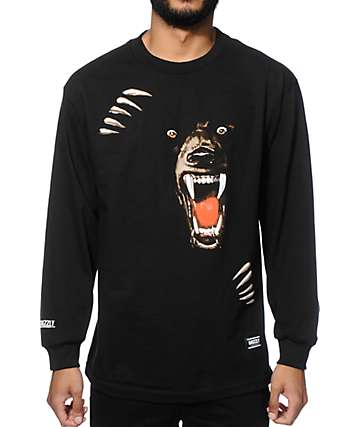 Grizzly Night Of The Grizzly Long Sleeve T-Shirt