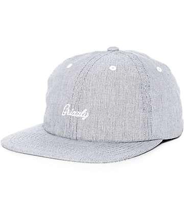 Grizzly Poplin Script Strapback Hat
