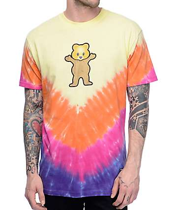 Grizzly Pudwill Pro Bear Tie Dye T-Shirt