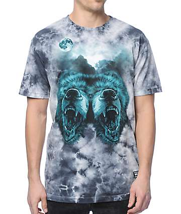 Grizzly Roar At The Moon T-Shirt