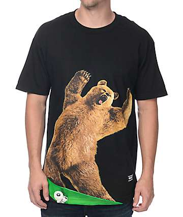 Grizzly X EBS Black T-Shirt