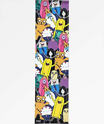 Grizzly x Adventure Time Like Your Brain And Stuff Grip Tape