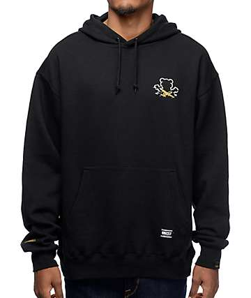 Grizzly x Benny Gold Stay Grizzly Black Hoodie