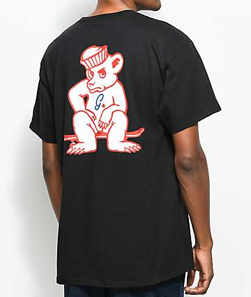 Grizzly x Champion Leader Of The Pack Black T-Shirt