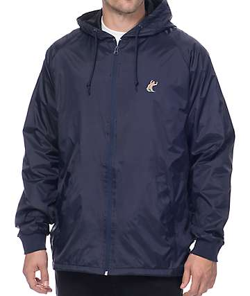 Grizzly x EBS Navy Coaches Jacket