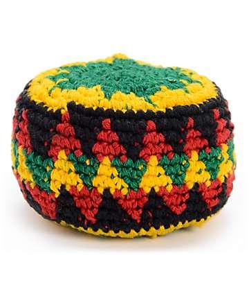 Guatemalart Rasta Crochet Hacky Sack