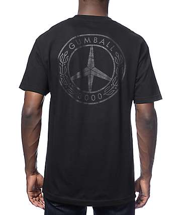 Gumball 3000 Peace Black T-Shirt