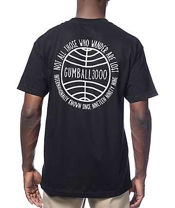 Gumball 3000 Wanderer Black T-Shirt
