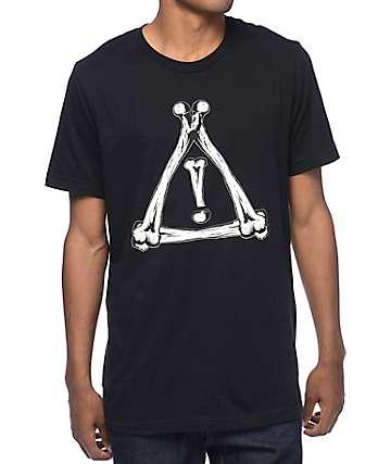 HDY Nation Flosstradamus Bones Black T-Shirt