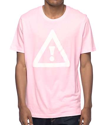 HDYNATION Flosstradamus Monument Pink T-Shirt