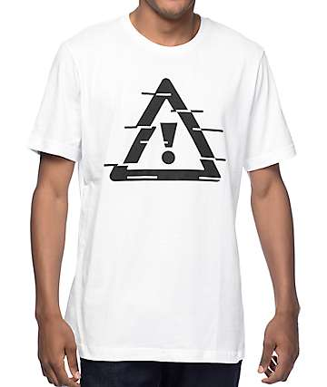 HDYNATION Flosstradamus Scrambled Nation White T-Shirt