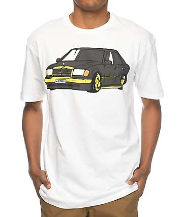 HSTRY E-Class White T-Shirt