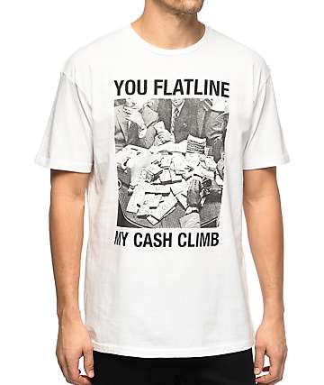 HSTRY Flatline White T-Shirt