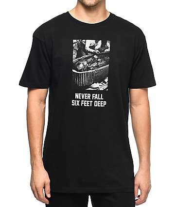HSTRY Never Fall camiseta negra