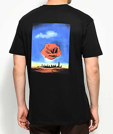 HSTRY Rose City Black T-Shirt