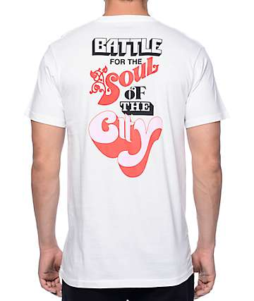 HSTRY Soul Of The City White T-Shirt