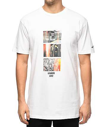 HSTRY x The Get Down Leaders White T-Shirt