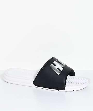HUF 10k sandalias en blanco y negro