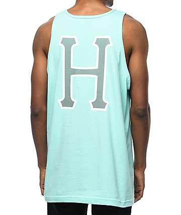 HUF 3M Classic camiseta sin mangas en color celadon