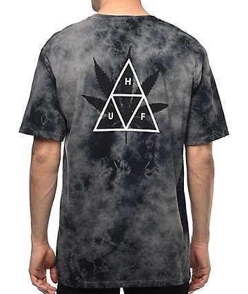 HUF 420 Triple Triangle Black T-Shirt