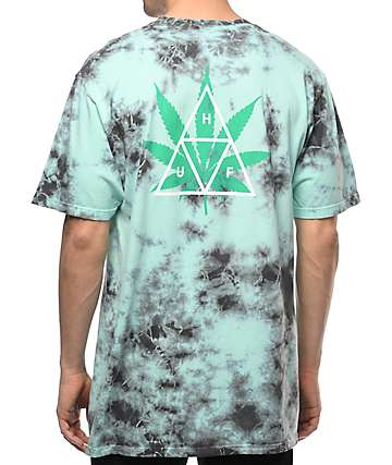 HUF 420 Triple Triangle Mint T-Shirt