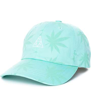 HUF 420 Triple Triangle gorra strapback en color menta