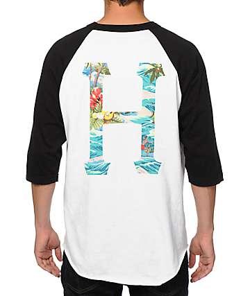 HUF Aloha Classic H 2 Baseball T-Shirt