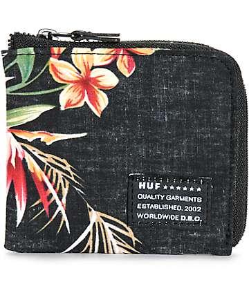 HUF Aloha Zip Wallet