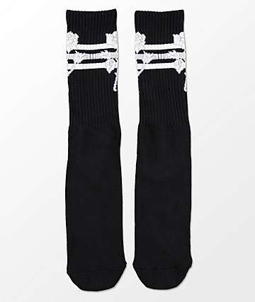 HUF Ambush Rose Black Crew Socks