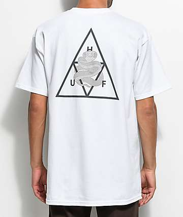HUF Ambush Triple Triangle camiseta blanca