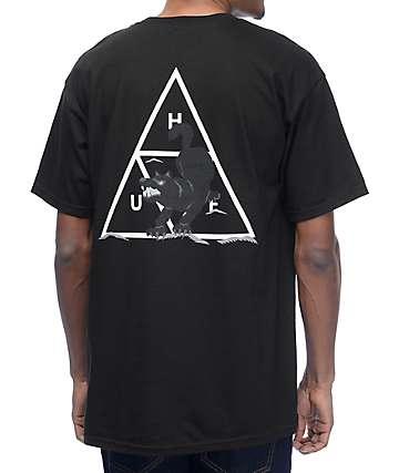 HUF Black Wolf Black T-Shirt