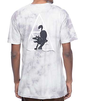 HUF Black Wolf Crystal Wash T-Shirt
