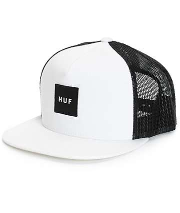 HUF Box Logo Trucker Hat