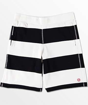 HUF Catalina shorts deportivos en negro