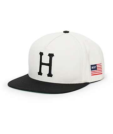 HUF Classic H Snapback Hat