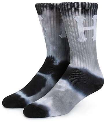 HUF Classic H Tie Dye Stripe Crew Socks