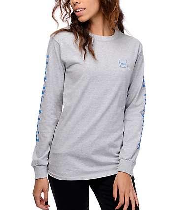 HUF Domestic camiseta gris de manga larga