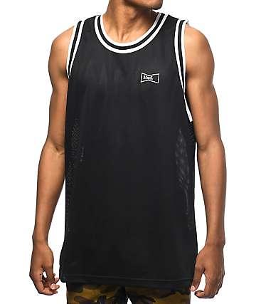 HUF Drink Up jersey de baloncesto en negro