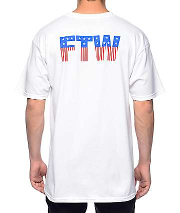 HUF FTW White T-Shirt