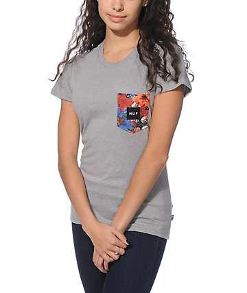 HUF Flor Pocket T-Shirt